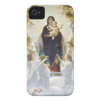 Virgin Mary and Jesus with angels Case-Mate iPhone 4 Case