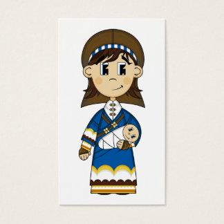 Virgin Mary & Baby Jesus Bookmark
