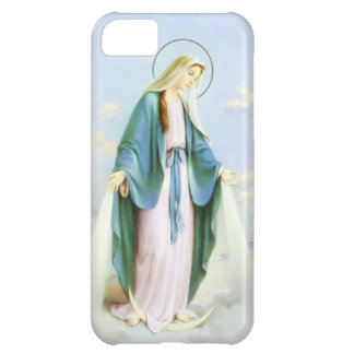 Virgin Mary Crescent Moon iPhone 5C Case