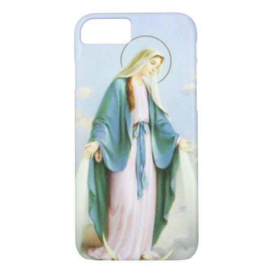 Virgin Mary Crescent Moon iPhone 8/7 Case