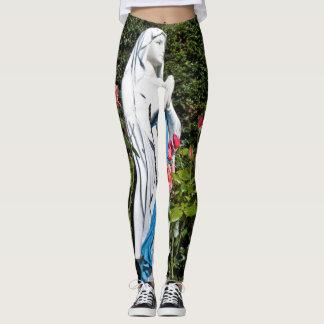 Virgin Mary Custom Leggings
