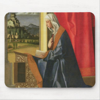Virgin Mary, from The Annunciation diptych (oil on Mouse Pad