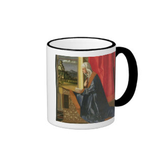 Virgin Mary, from The Annunciation diptych (oil on Ringer Mug