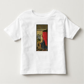 Virgin Mary, from The Annunciation diptych (oil on Toddler T-Shirt