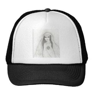Virgin Mary Mesh Hats