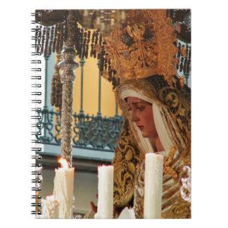 Virgin Mary Icon Notebook