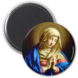 Virgin Mary in Prayer Magnet