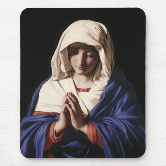 Virgin Mary Mouse Mat