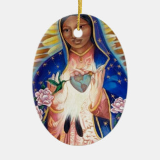 Virgin Mary - Our Lady Of Guadalupe Christmas Ornament