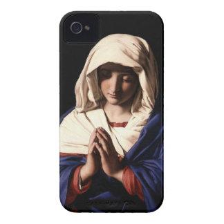 Virgin Mary Praying iPhone 4 Case-Mate Case