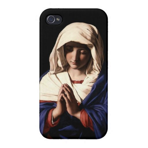 Virgin Mary Praying Case For iPhone 4