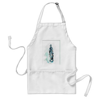 Virgin Mary Standing Graphic Apron
