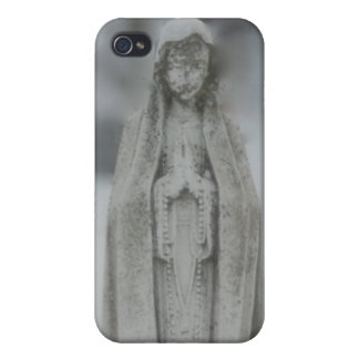 Virgin Mary Statue of Marble iPhone 4 Covers