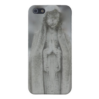 Virgin Mary Statue of Marble iPhone 5 Cases