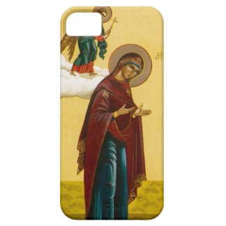 Virgin Mary's Russian icon iPhone 5 Case