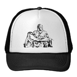 Virgin Mother Mary and Jesus Mesh Hat