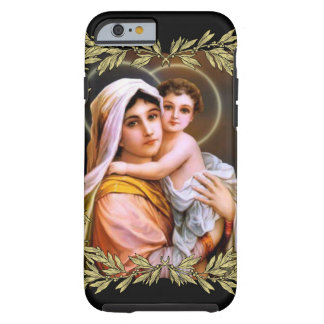 Virgin Mother Mary with Baby Jesus Tough iPhone 6 Case