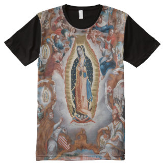 """Virgin of Guadalupe"" art t-shirt"