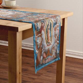 """""""Virgin of Guadalupe"""" art table runner"""