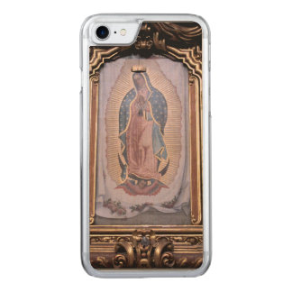 Virgin of Guadalupe Carved iPhone 7 Case