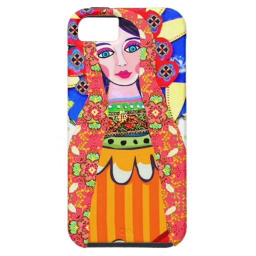 Virgin of Guadalupe iPhone 5 Cases