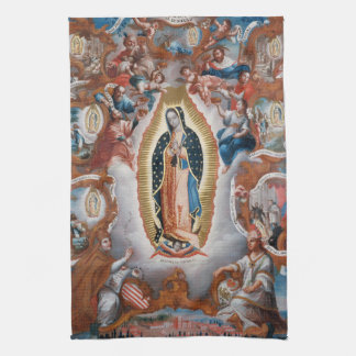 """Virgin of Guadalupe"" hand towel"