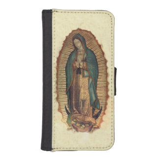 Virgin Of Guadalupe, Our Lady iPhone SE/5/5s Wallet Case