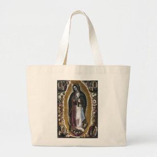 Virgin Of Guadalupe, Our Lady Jumbo Tote Bag