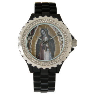 Virgin Of Guadalupe, Our Lady Wristwatch