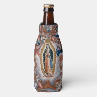 """""""Virgin of Guadalupe"""" religious art bottle cooler"""