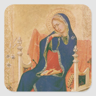 Virgin of the Annunciation Square Sticker
