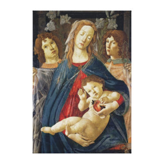 Virgin of the Pomegranate Canvas Print