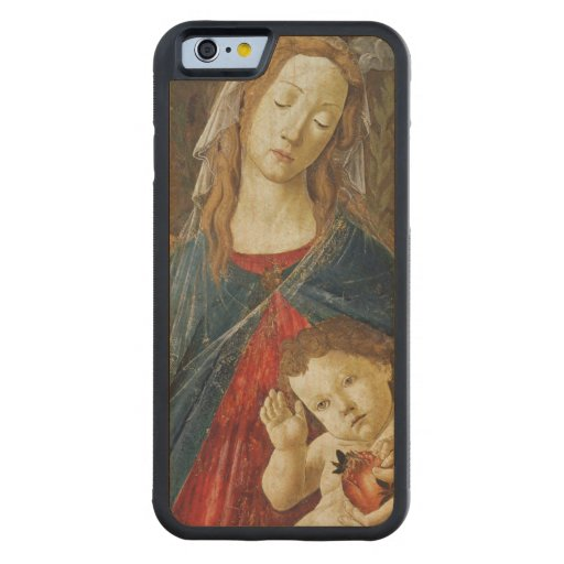 Virgin of the Pomegranate Carved® Maple iPhone 6 Bumper Case