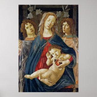 Virgin of the Pomegranate Print