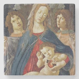 Virgin of the Pomegranate Stone Beverage Coaster