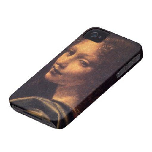 Virgin of the Rocks - Angel iPhone 4 Case