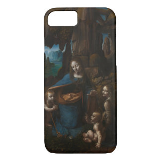 Virgin of the Rocks by Leonardo da Vinci iPhone 7 Case