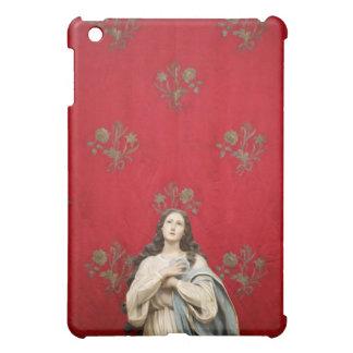 Virgin statue in a Spaccanapoli church, Naples Cover For The iPad Mini