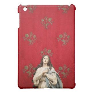 Virgin statue in a Spaccanapoli church, Naples iPad Mini Covers