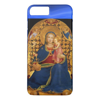 VIRGIN WITH CHILD AND ANGELS ,Blue Sapphire iPhone 7 Plus Case