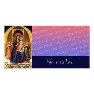 VIRGIN WITH CHILD AND ANGELS PHOTO CARDS