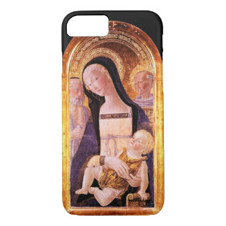 VIRGIN WITH CHILD AND SAINTS iPhone 7 CASE