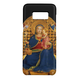 VIRGIN WITH CHILD,ANGELS ,Black,Gold Yellow,Blue Case-Mate Samsung Galaxy S8 Case