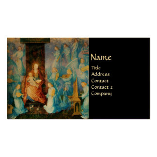 VIRGIN WITH CHILD - CONCERT OF ANGELS BUSINESS CARD TEMPLATES