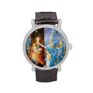 VIRGIN WITH CHILD - CONCERT OF ANGELS WRIST WATCHES