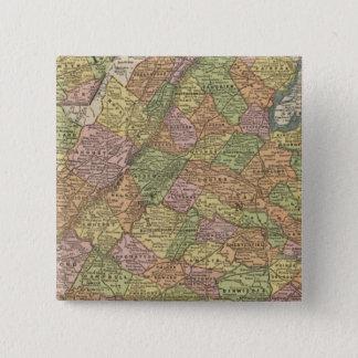 Virginia 13 15 cm square badge