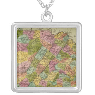 Virginia 2 silver plated necklace