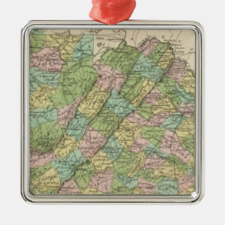 Virginia 3 christmas ornament
