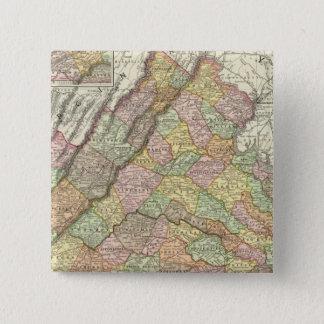 Virginia 4 15 cm square badge
