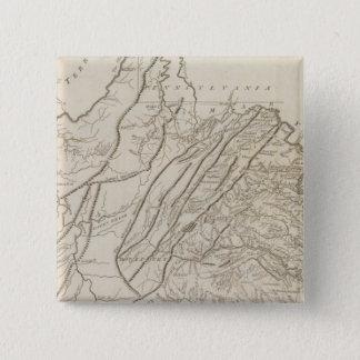 Virginia 6 15 cm square badge